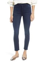 Jen7 Classic Midnight Ankle Skinny Jeans