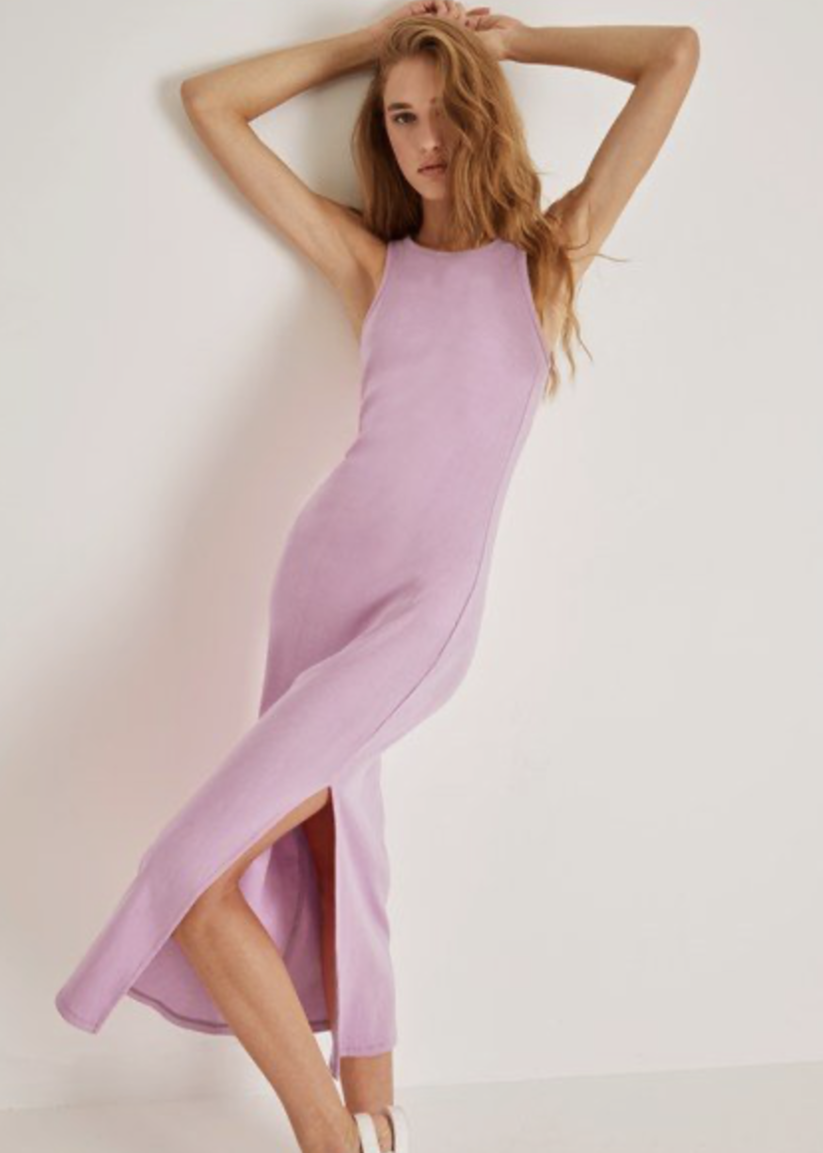 French Connection French Connection Lavender Rasha Jersey Dress