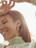 Kendra Scott Presleigh Silver Drop Earrings