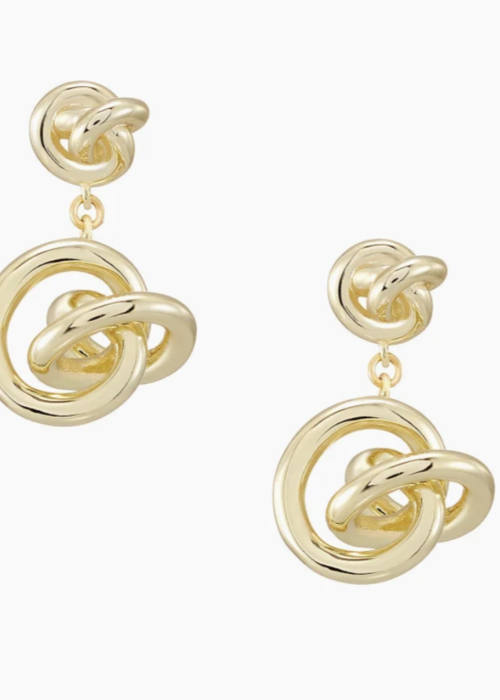 Kendra Scott Presleigh Gold Drop Earrings