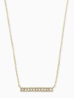 Kendra Scott Addison Gold Bar Necklace
