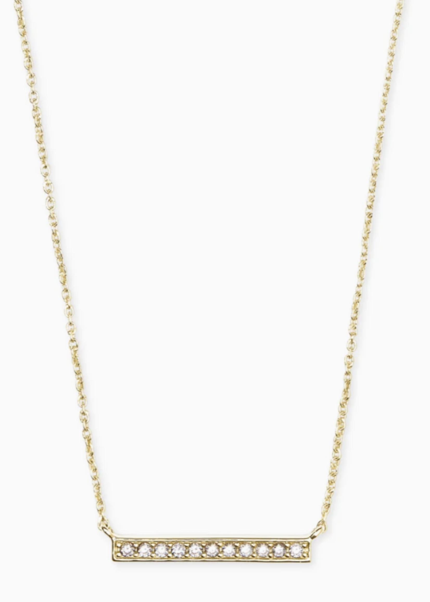 Kendra Scott Kendra Scott Addison Gold Bar Necklace