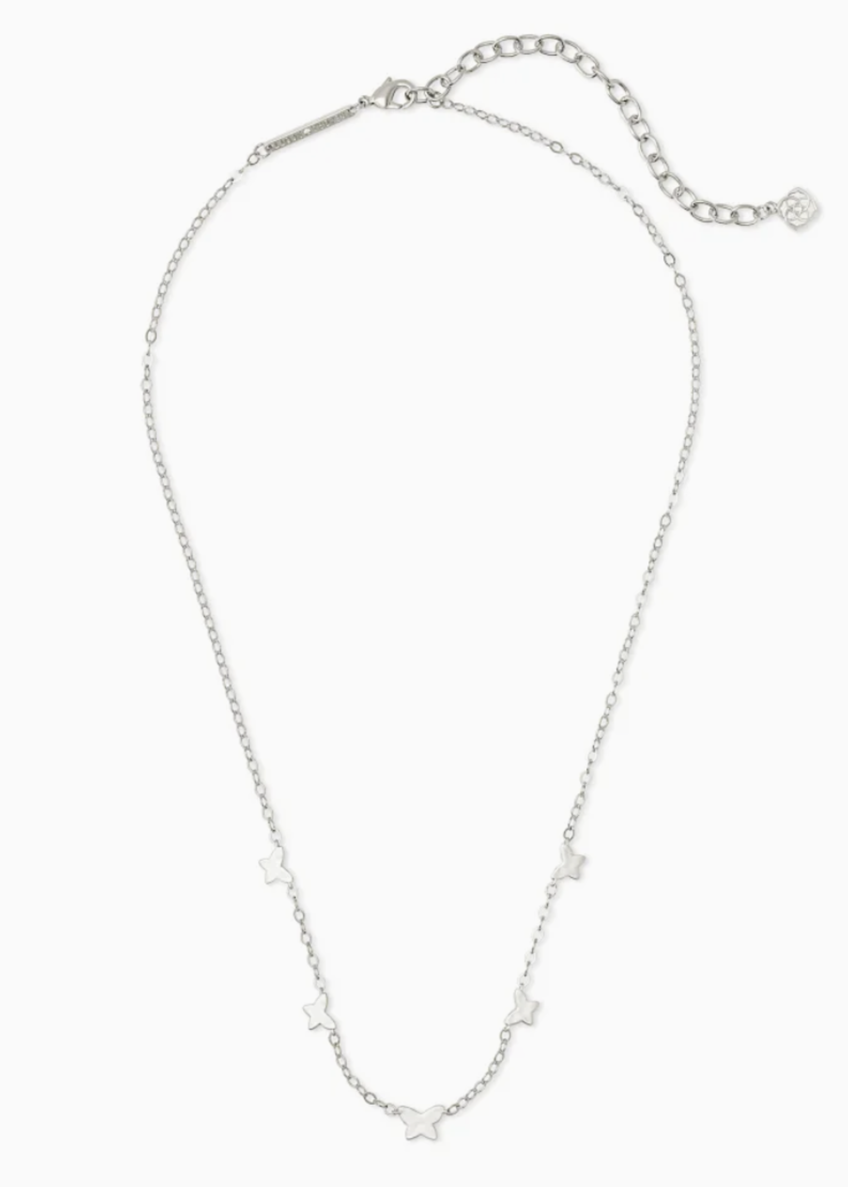 Kendra Scott Kendra Scott Lillian Butterfly Strand Necklace Silver