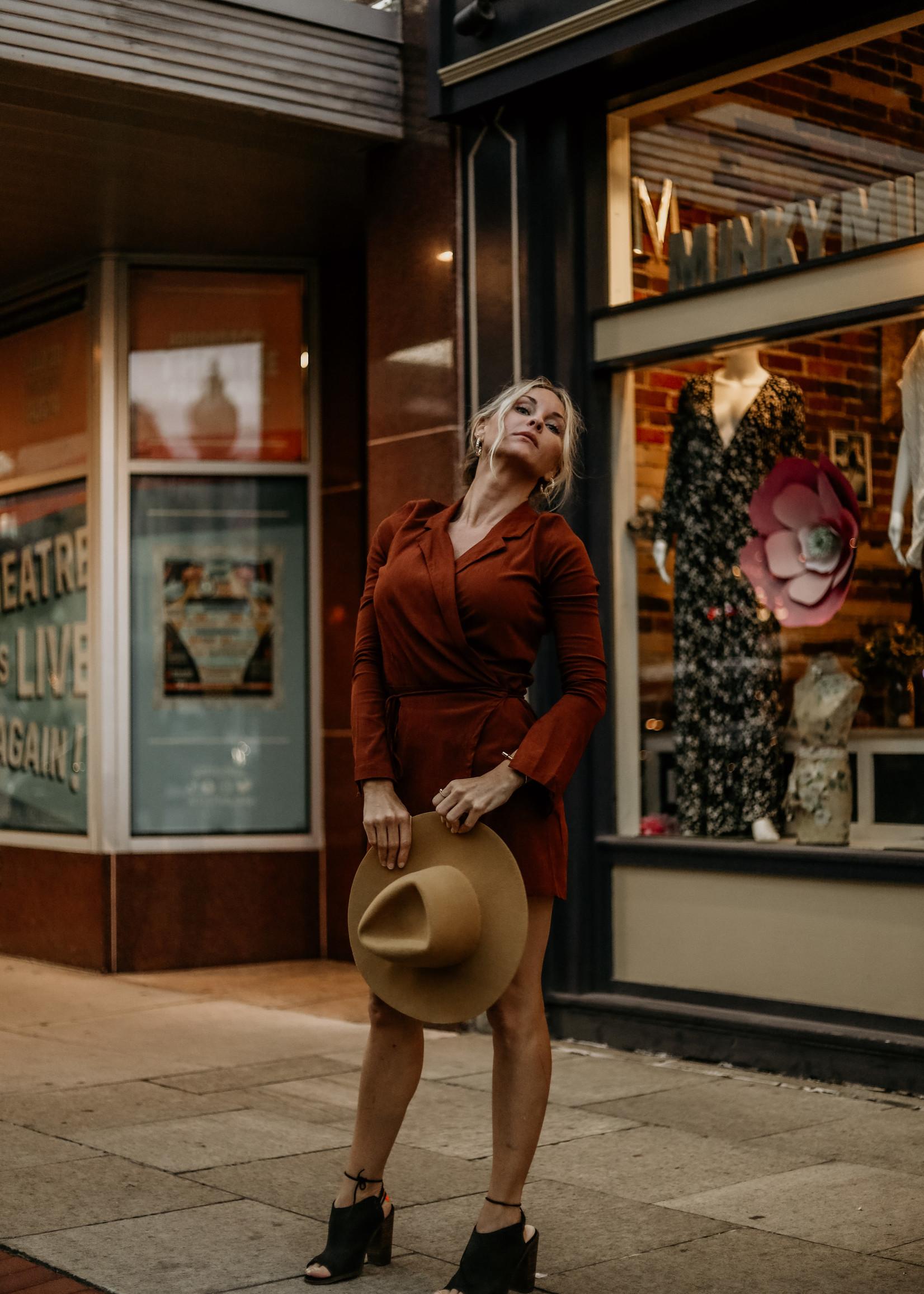 Free People Helena Wrap Dress