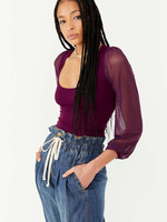 Free People Lost in Love Seamless Top