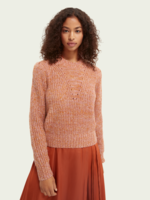 Scotch & Soda Loose Fit Pullover With Puff Sleeve
