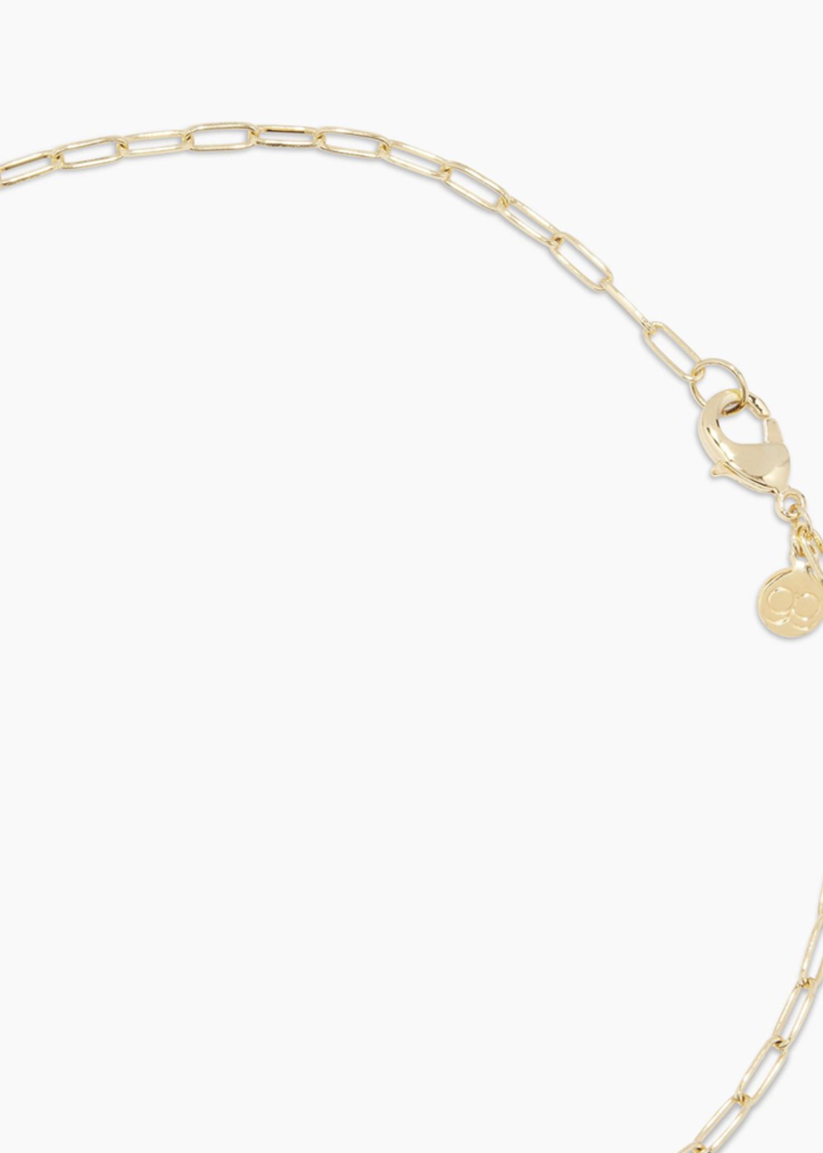 Gorjana Gorjana Kara Padlock Charm Necklace