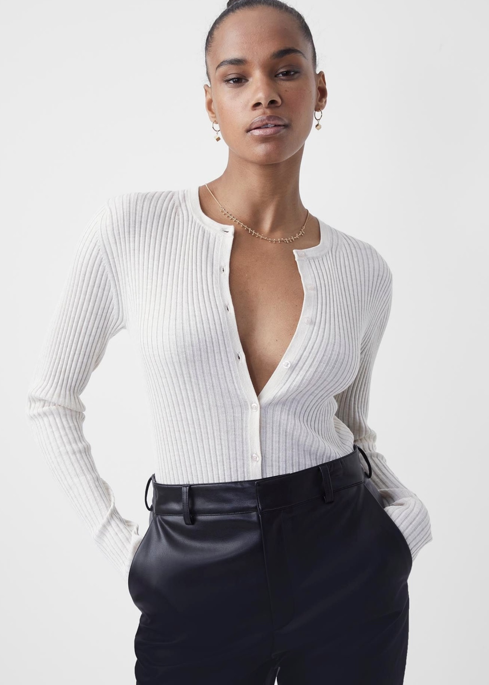 French Connection French Connection Judie Ribbed Cardigan