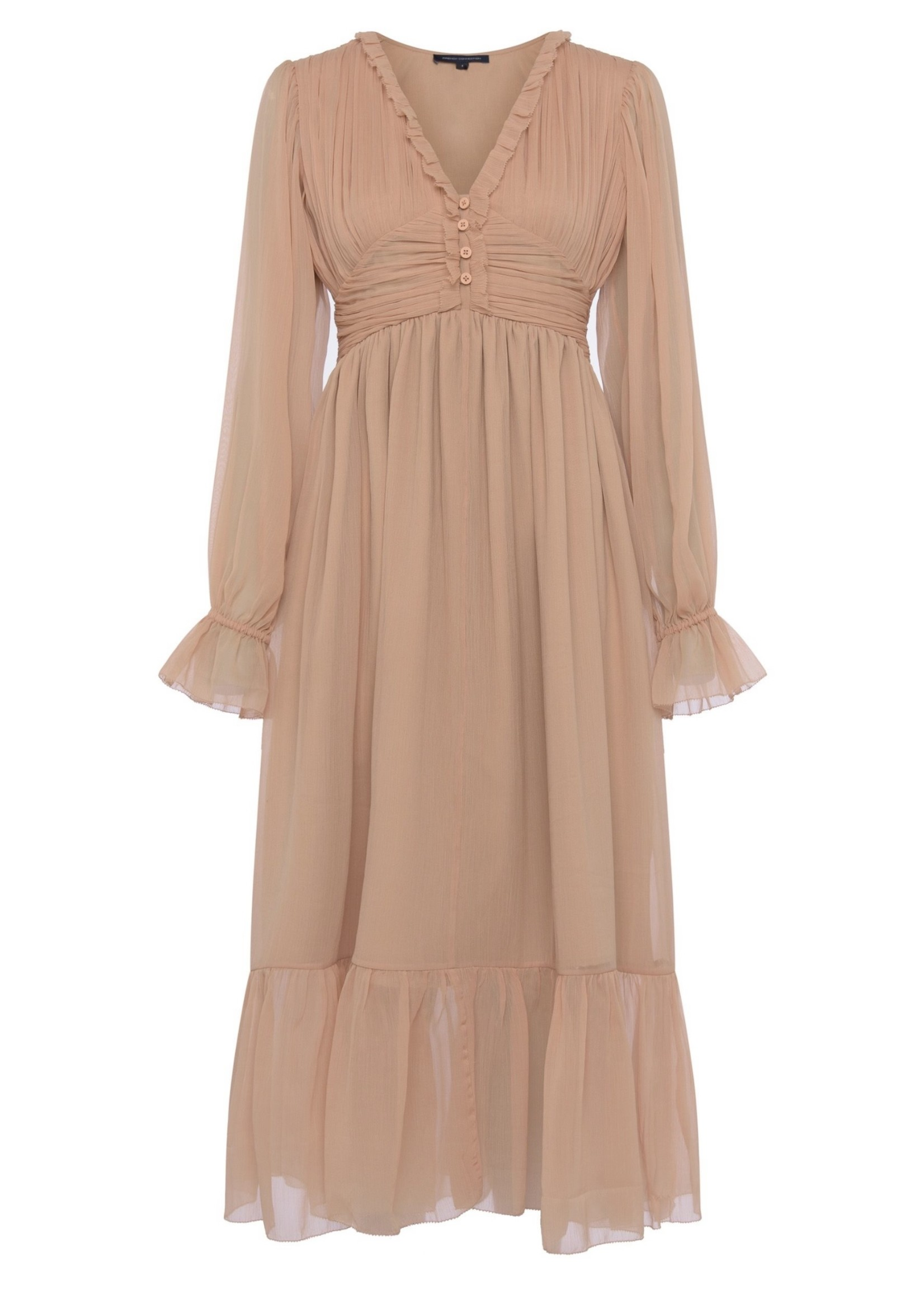 French Connection French Connection Alita Pleated Midi Dress
