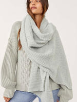 Free People Ripple Recycled Blanket Scarf