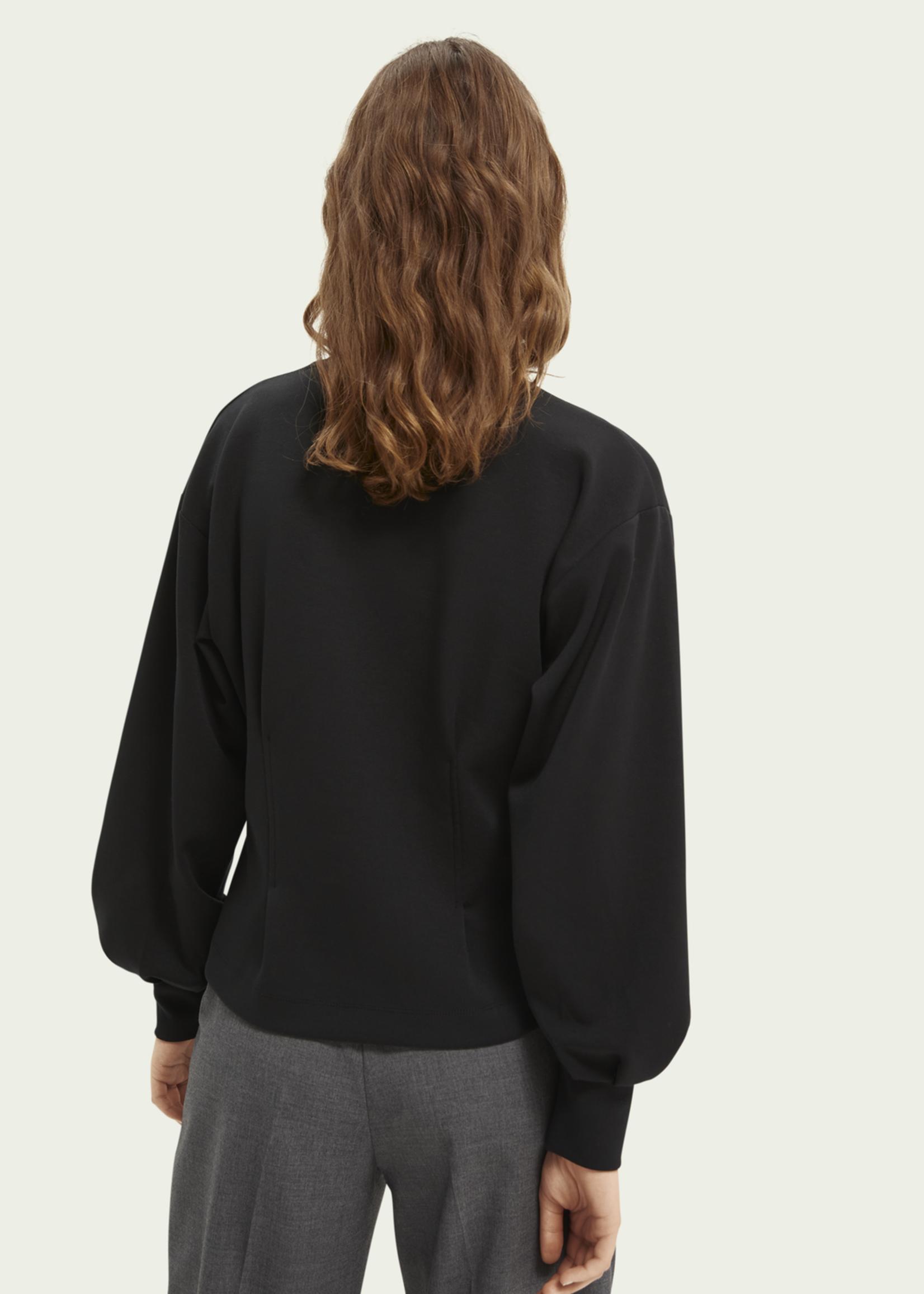 Scotch & Soda Scotch & Soda Voluminous Sleeve Sweatshirt
