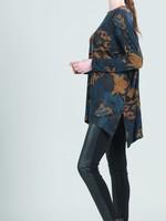 Clara Sunwoo Lightweight Mosaic Button Sleeve Tunic