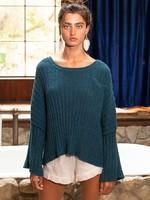 POL Deep Green Sweater