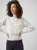 French Connection Kady Lace Mozart Sweater