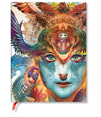 PAPER BLANKS PB NOTEBOOK FLEXI  - DHARMA DRAGON