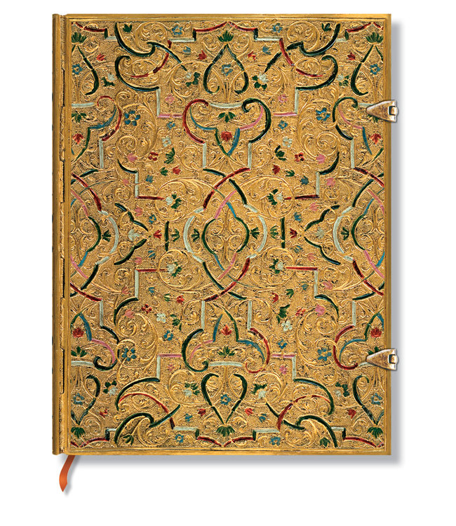 PAPER BLANKS PB NOTEBOOK - GOLD INLAY