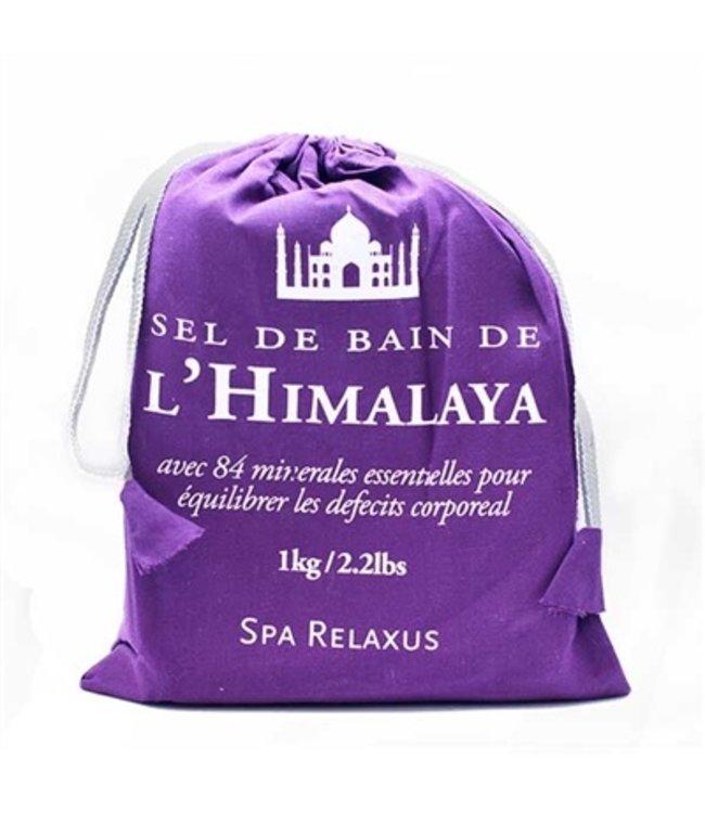 RELAXUS HIMALAYAN BATH SALT - 1KG BAG