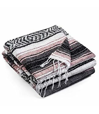 GAIAM MEDITATION HARDWARE WOVEN BLANKET
