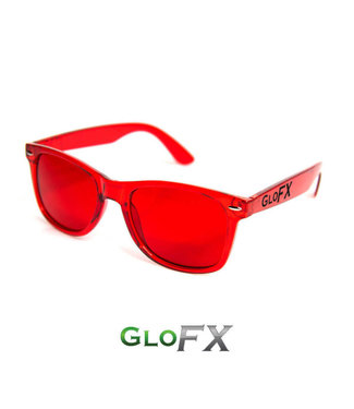 GLOFX GLOFX COLOR THERAPY GLASSES RED