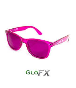 GLOFX GLOFX COLOR THERAPY GLASSES MAGENTA