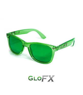 GLOFX GLOFX COLOR THERAPY GLASSES GREEN