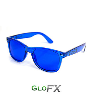 GLOFX GLOFX COLOR THERAPY GLASSES BLUE