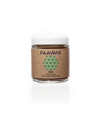 PAAVANI PAAVANI FACIAL CLEANSER & MASK VATA