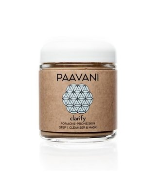 PAAVANI PAAVANI FACIAL CLEANSER & MASK CLARIFY