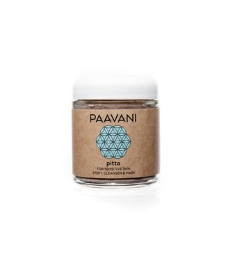 PAAVANI PAAVANI FACIAL CLEANSER & MASK PITTA