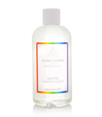 AURA SOMA AURA SOMA FLOWER SHOWER 250ML WHITE