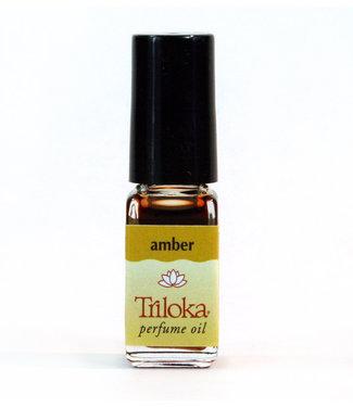 TRILOKA - AMBER PERFUME OIL/DRAM