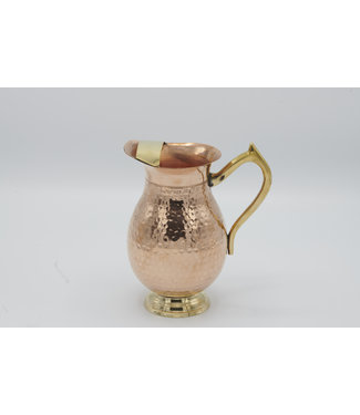 EUSENSES EUSENSES HAMMERED COPPER JUG