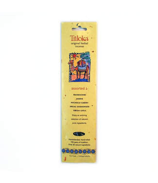 TRILOKA - ASSORTED 2 INCENSE STICK