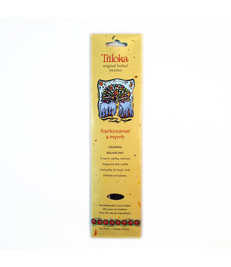 TRILOKA - FRANKINCENSE & MYRRH INCENSE STICK