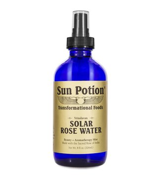 SUN POTION SP SOLAR ROSE WATER 8 FL OZ