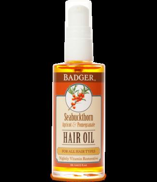BADGER HAIR OIL SEABUCKTHORN - FOR ALL HAIR TYPES 2 OZ