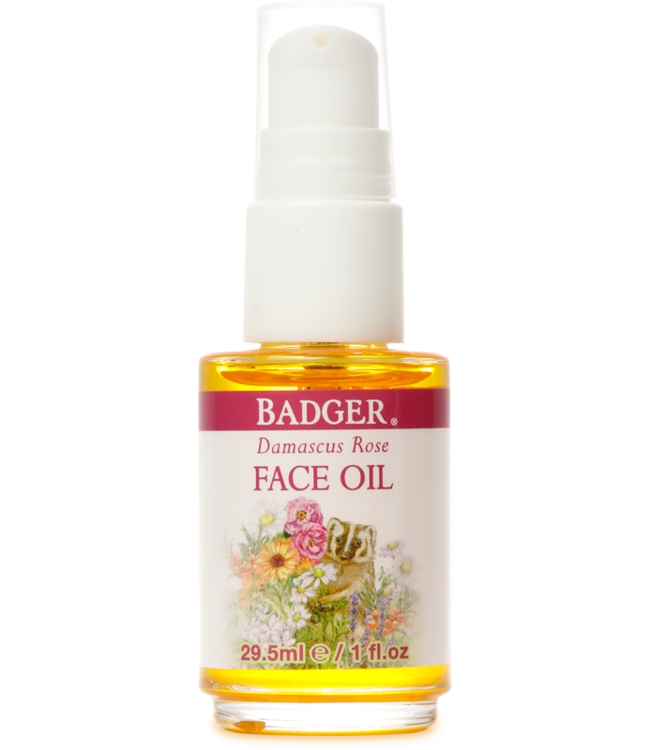 BADGER FACE OIL DAMASCUS ROSE - FOR DELICATE SKIN 1 OZ
