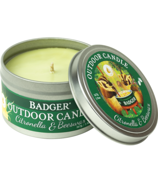 BADGER CITRONELLA & BEESWAX CANDLE