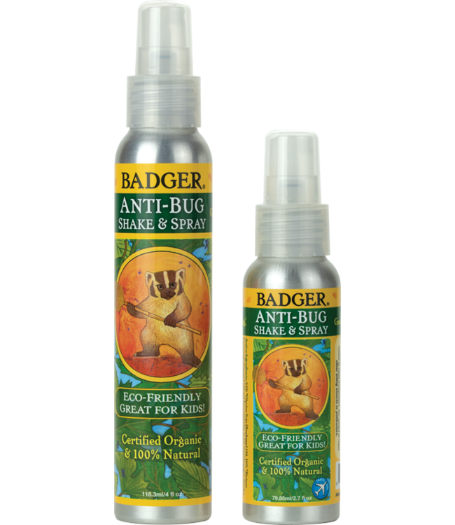 BADGER ANTI-BUG SHAKE & SPRAY ALUMINUM BOTTLE