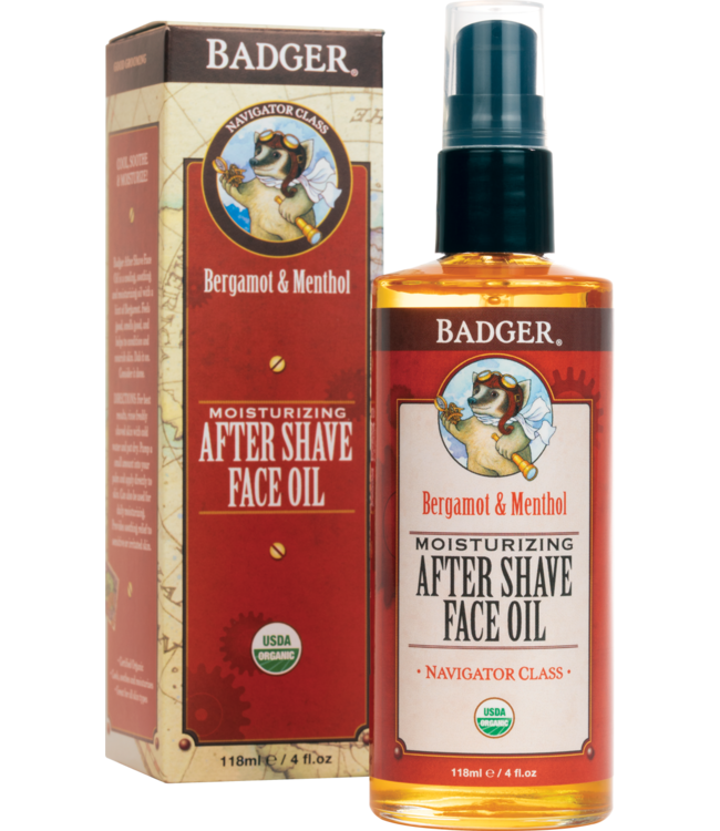 BADGER AFTER SHAVE FACE OIL