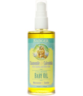 BADGER BABY OIL 4 OZ