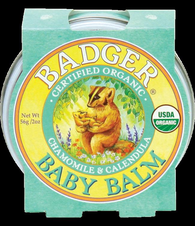 BADGER BALM BABY BALM .75 OZ TIN