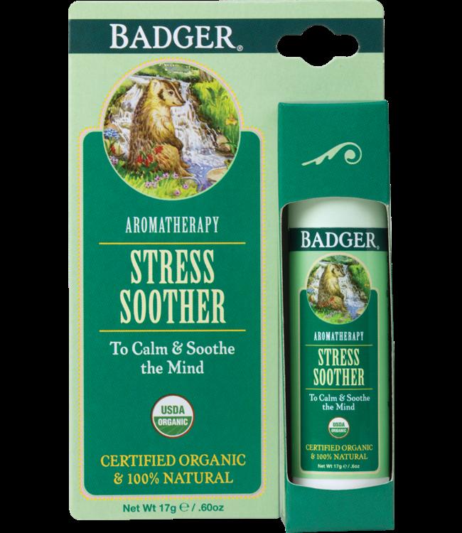 BADGER AROMATHERAPY MIND BALM STICK STRESS .6 OZ