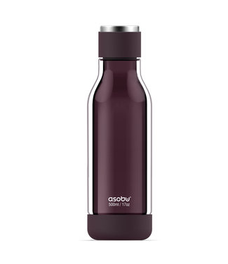 ASOBU INNER PEACE GLASS WATER BOTTLE