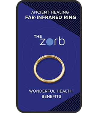 ZORB ZORB - THE FIVE ELEMENTS FAR-INFRARED RING - ANCIENT HEALING