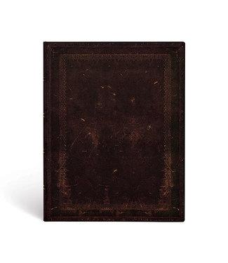 PAPER BLANKS PB NOTEBOOK FLEXI  - BLACK MOROCCAN BOLD