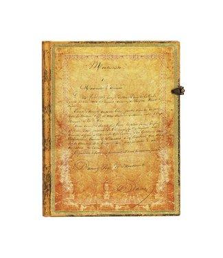 PAPER BLANKS PB NOTEBOOK - DUMAS' 150TH ANNIVERSARY
