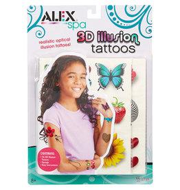 ALEX 3D ILLUSION TATTOOS