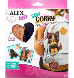 ALEX SEW CORKY DOG BAG