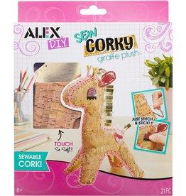 ALEX SEW CORKY-GIRAFFE